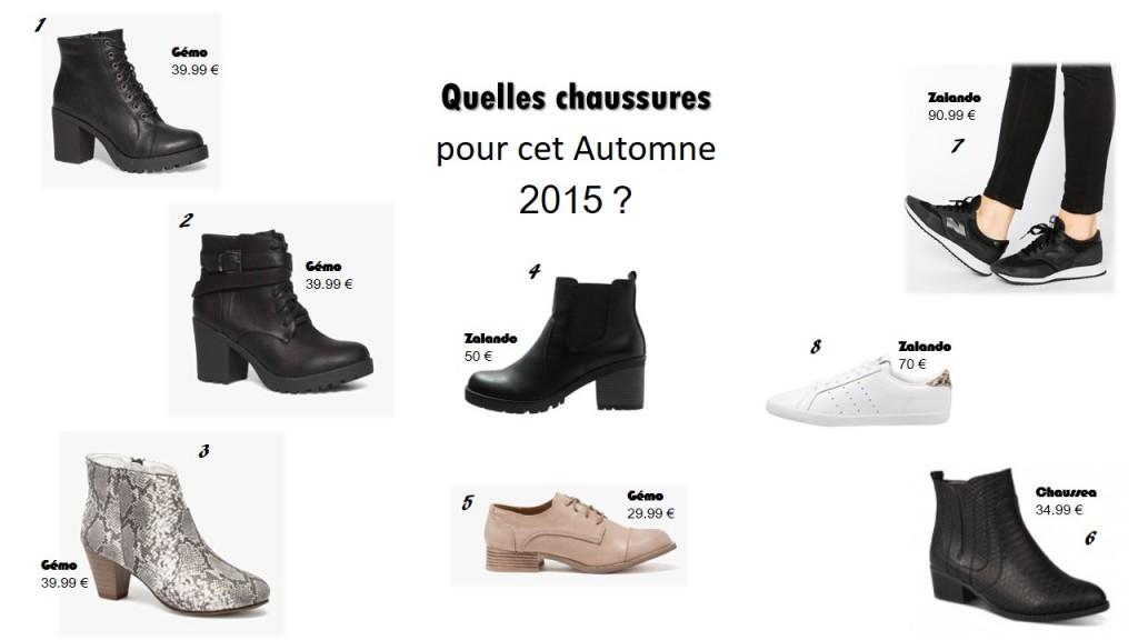 Automne 2015 : Tendances Shoes