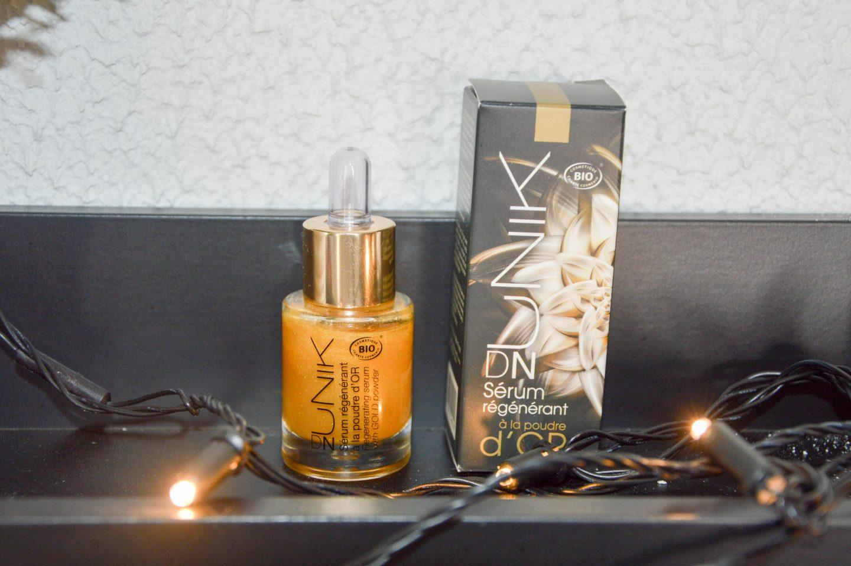 Sérum régénérant Unik à la poudre d'or, Bling ou pas ?